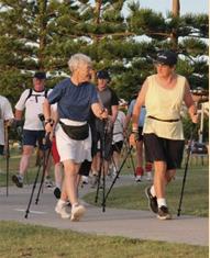 polewalking community fitess